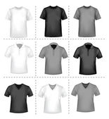 T-shirt-Design-Vorlage. Vektor-illustration