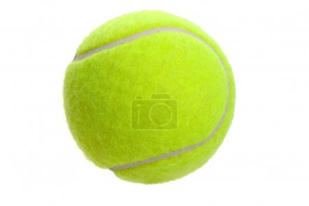 Photo for Tennis Ball with white background - Royalty Free Image