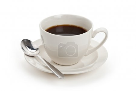 Photo for Coffee cup with white background - Royalty Free Image