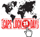 October 28 - world caps lock day
