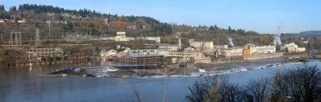 Industrial landscape Oregon city, OR.