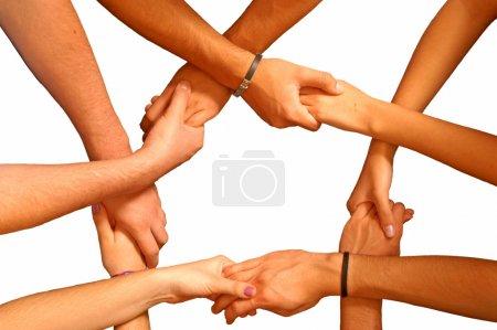 Photo pour L'unité est la force - image libre de droit