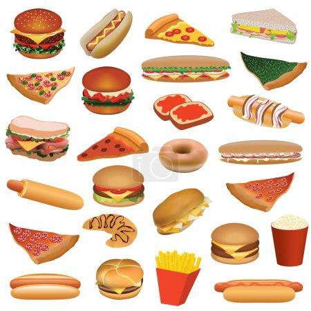 Big fast food set