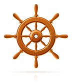 Loď kolo mořské dřevěné vinobraní