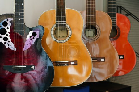 Ordered acoustic guitars