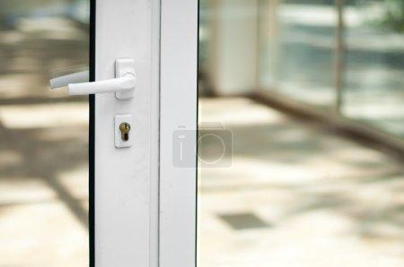 White door and windows