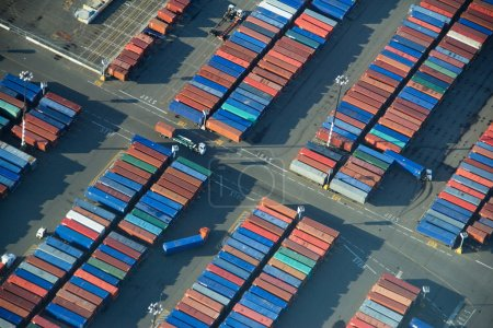 Shipping Container Rows