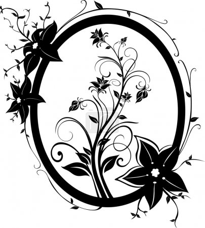 Flowers Frame 01