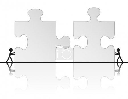 Building a puzzle