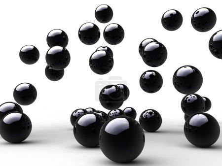 Jump black balls