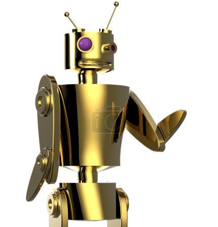 Photo pour Robot-détective - image libre de droit