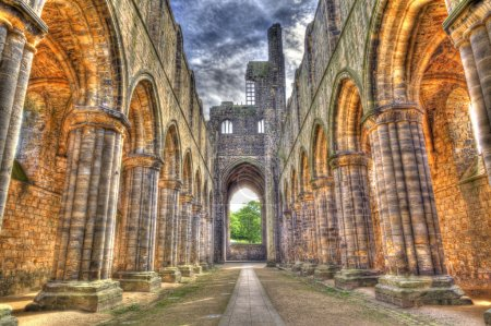 Historic ruins of Medieval Abbey