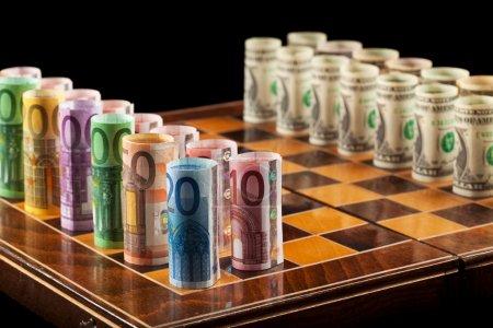 Money making strategies concept