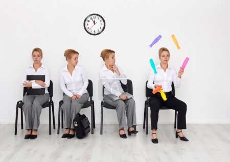 Employees with special skills wanted - job interview candidates