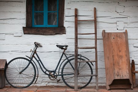 Photo for Still life with old barn - Royalty Free Image
