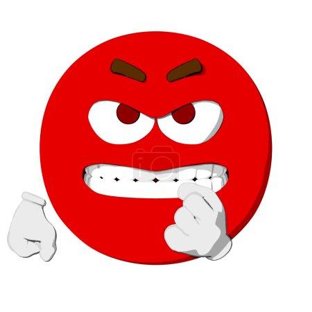 Emoticon Aggressive