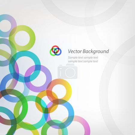 EPS10 vector abstract circle background