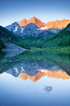 Photo for Maroon Bells in the morning - Royalty Free Image