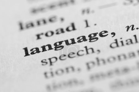 Dictionary Series - Language