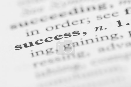 Dictionary Series - Success