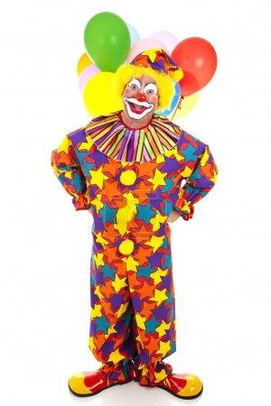 Funny Clown Full Body