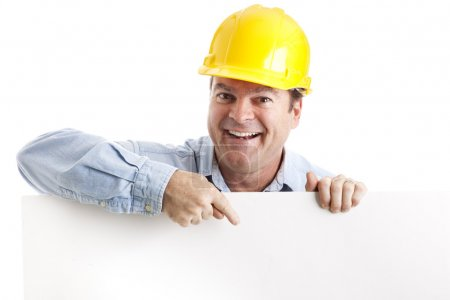 Construction Worker Design Element