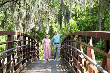 Seniors on a Stroll
