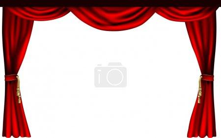 cortinas de teatro o cine
