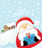 Santa je překvapení