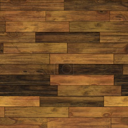 Photo for Aged wood illustration. Seamless pattern. - Royalty Free Image