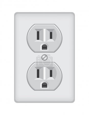 U.S. electric household outlet