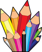 Rainbow Pencil City Icon