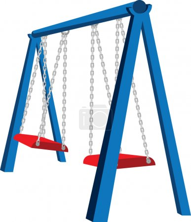 Playground Swing Illustration