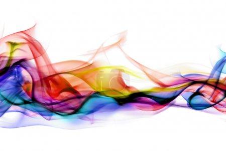 Photo pour Fumée abstraite - image libre de droit