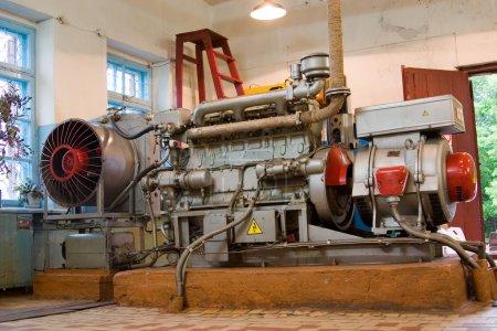 Diesel-generator set.