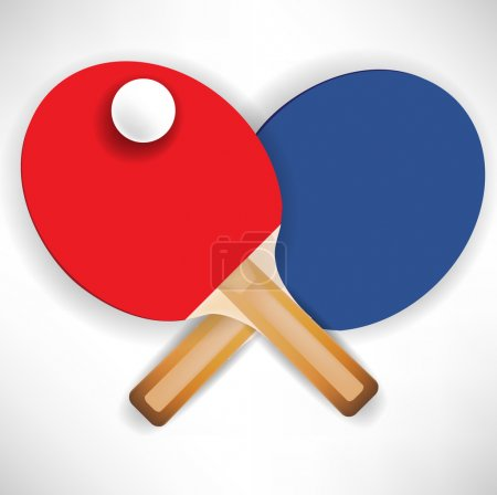 crossed ping pong rockets