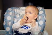 Dítě jíst chléb