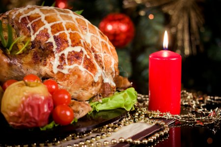 Christmas new year dinner