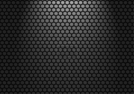 Photo pour Illustration abstraite de mur métallique - image libre de droit