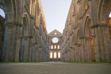 Abbey of san galgano tuscany italy