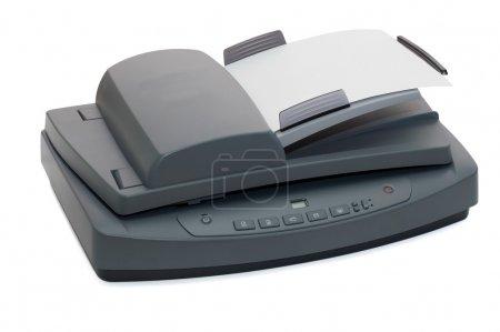 Multifunctional flatbed scanner