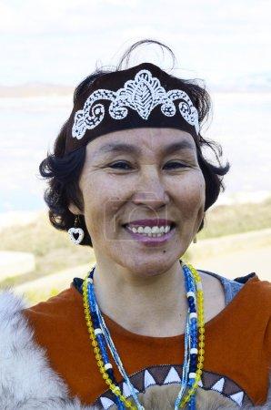 Senior chukchi woman
