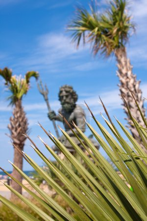The large public statue of King Neptune in Virgini...