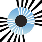 Abstract Eye Iris