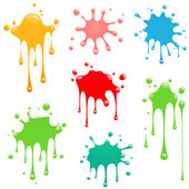 Abstract Paint Splatter