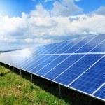 Solar panel produces green, enviromentaly friendly...