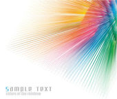Rainbow Colours Spectrum Business Card Background