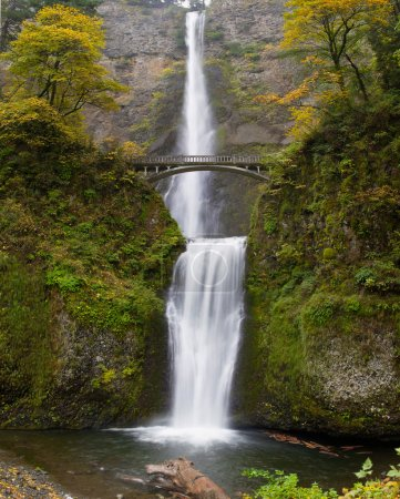 Multnomah Falls at Columbia River Gorge Oregon