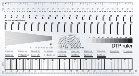 DTP Measure Ruler