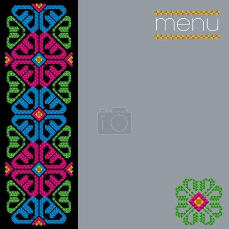 Mexican Menu Cover Design